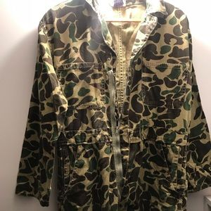 Other - Vintage 1990's Camo Insulated Coveralls L